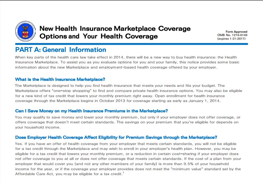 New Health Insurance
